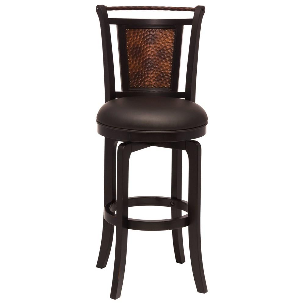 30.5 Norwood Swivel Barstool Wood/Black - Hillsdale Furniture Promos