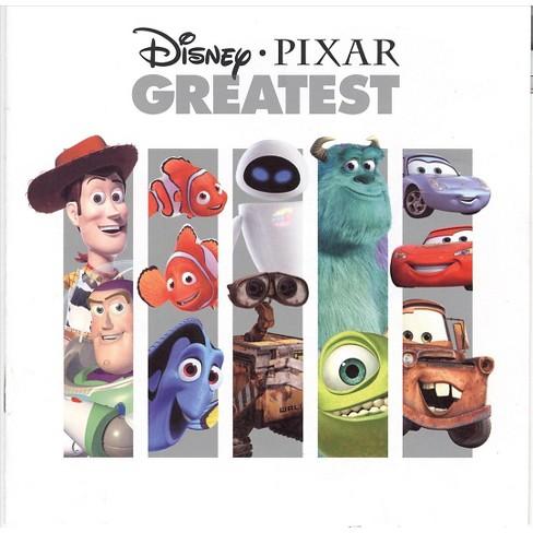 Various Artists - Disney Pixar Greatest Hits (CD) - image 1 of 4