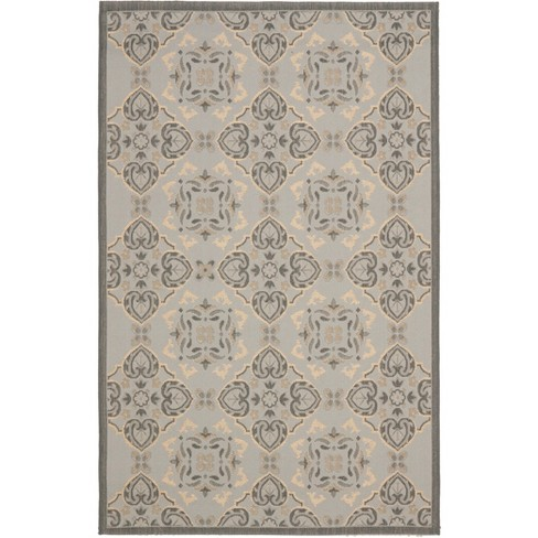 Courtyard Cy7978 Loomed Rectangle