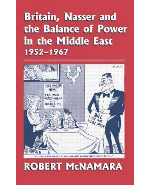 Britain, Nasser and the Balance of Power in the Middle East, 1952-1977 : From the Eygptian Revolution to - image 1 of 1