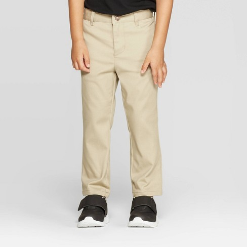 Toddler Boys' Straight Fit Uniform Chino Pants - Cat & Jack™ - image 1 of 3