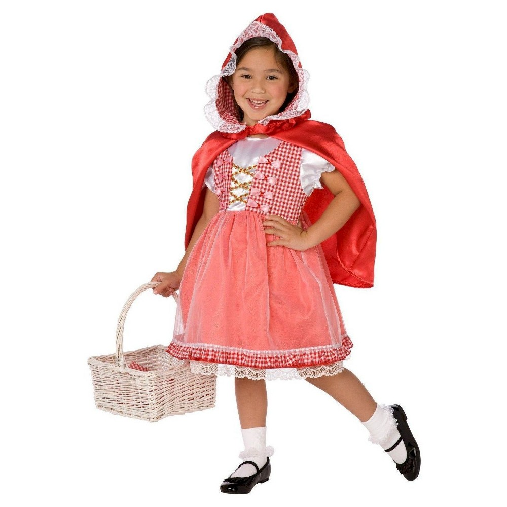 Girls' Red Riding Hood Costume Large, Size: L(10-12)