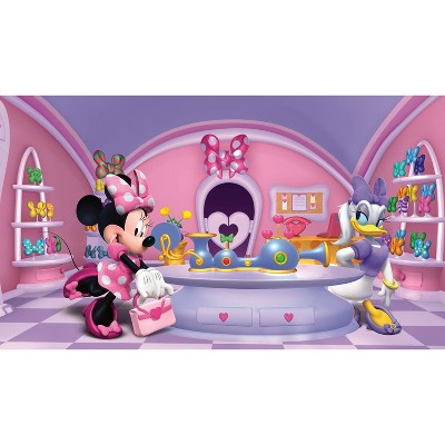 6'x10.5' Minnie Fashionista Mural Ultra Strippable - RoomMates