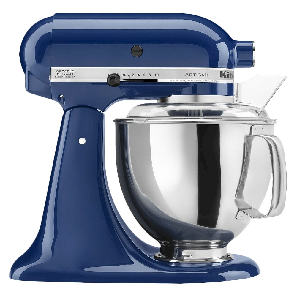 KitchenAid Artisan Series 5 Quart Tilt-Head Stand Mixer- Ksm150, Blue Willow 10278800