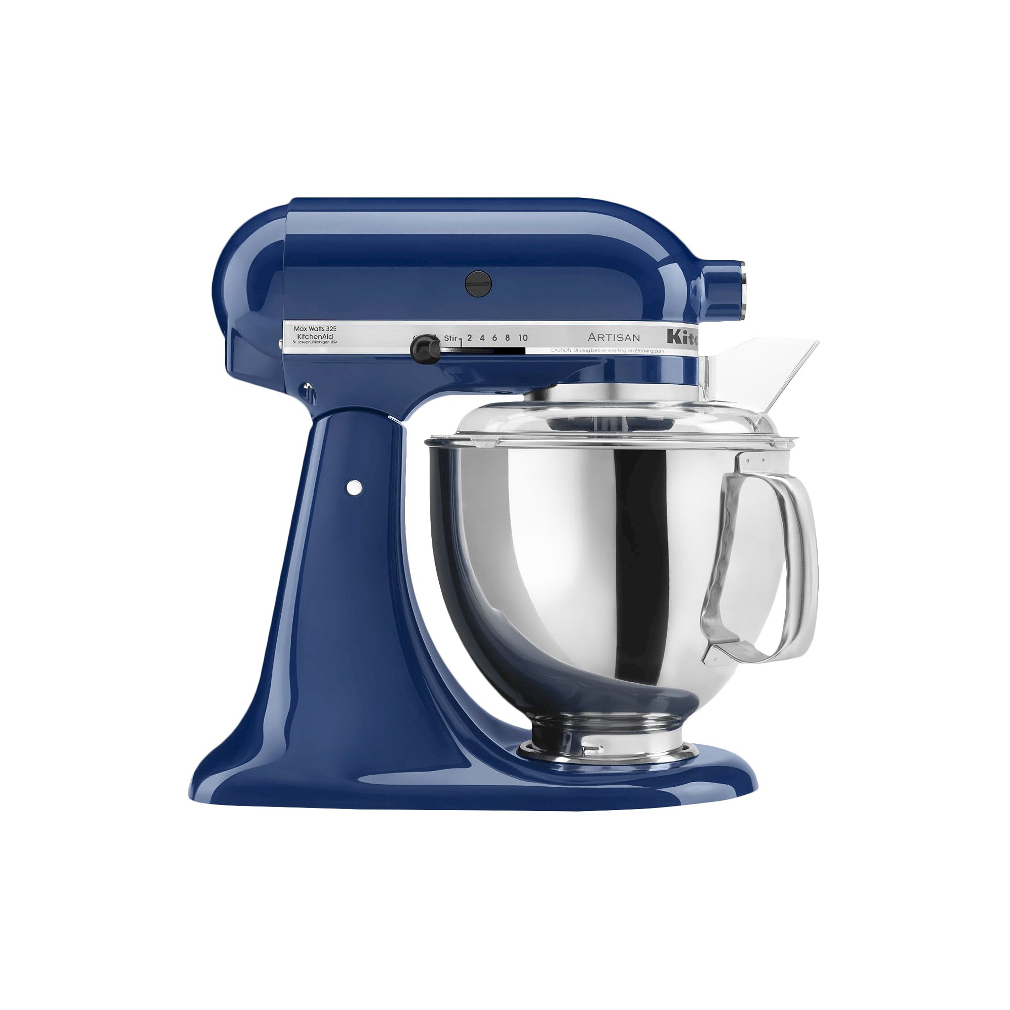 KitchenAid Artisan Series 5 Quart Tilt-Head Stand Mixer- Ksm150, Blue Willow