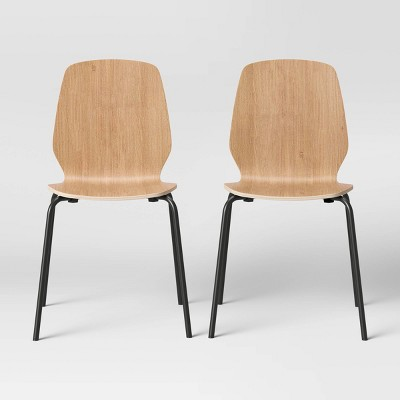 Set of 2 Bentwood Stacking Dining Chairs - Room Essentials™