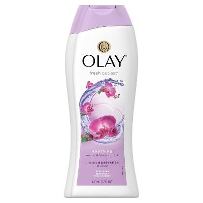 Olay Fresh Outlast Soothing Orchid & Black Currant Body Wash - 22oz