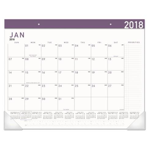 2018 Desk Calendar Contempo - AT-A-GLANCE - image 1 of 1