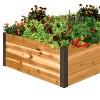 "Cedar Raised Garden Bed 3' x 4' x 15"" - Gardener's Supply Company - image 2 of 2"