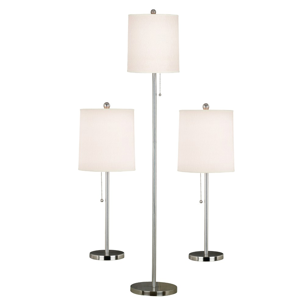 Image of 3 Piece Selma Lamp Set - White