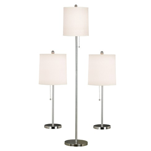 3 Piece Selma Lamp Set - White - image 1 of 1