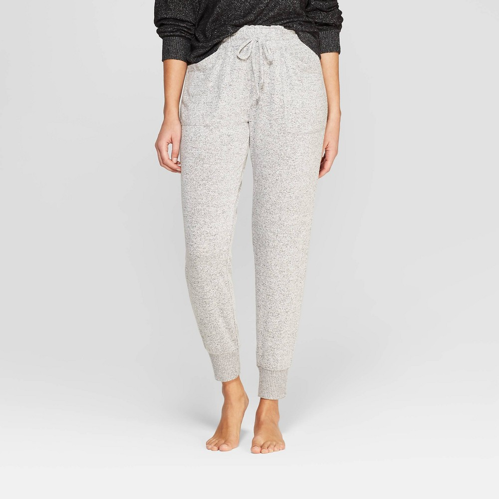 Women's Perfectly Cozy Lounge Jogger Pants - Stars Above Gray L