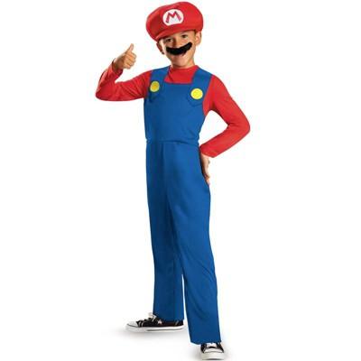 Super Mario Mario Classic Child Costume
