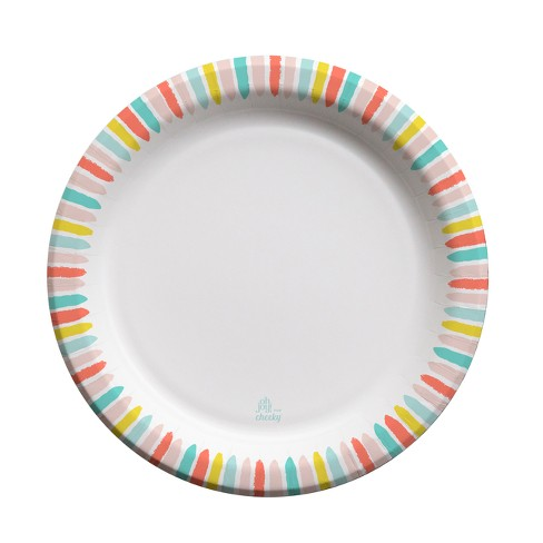 "Oh Joy! for Cheeky Stripe 10"" Paper Plates - 20ct - image 1 of 3"