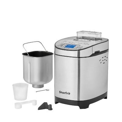 Starfrit Stainless Steel Electric Breadmaker - Silver