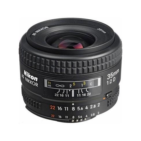 Nikon 35mm f/2D AF NIKKOR Lens - U.S.A. Warranty - image 1 of 4