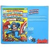 NMR Distribution Marvel Captain America #193 Comic Cover 500 Piece Jigsaw Puzzle - image 3 of 4