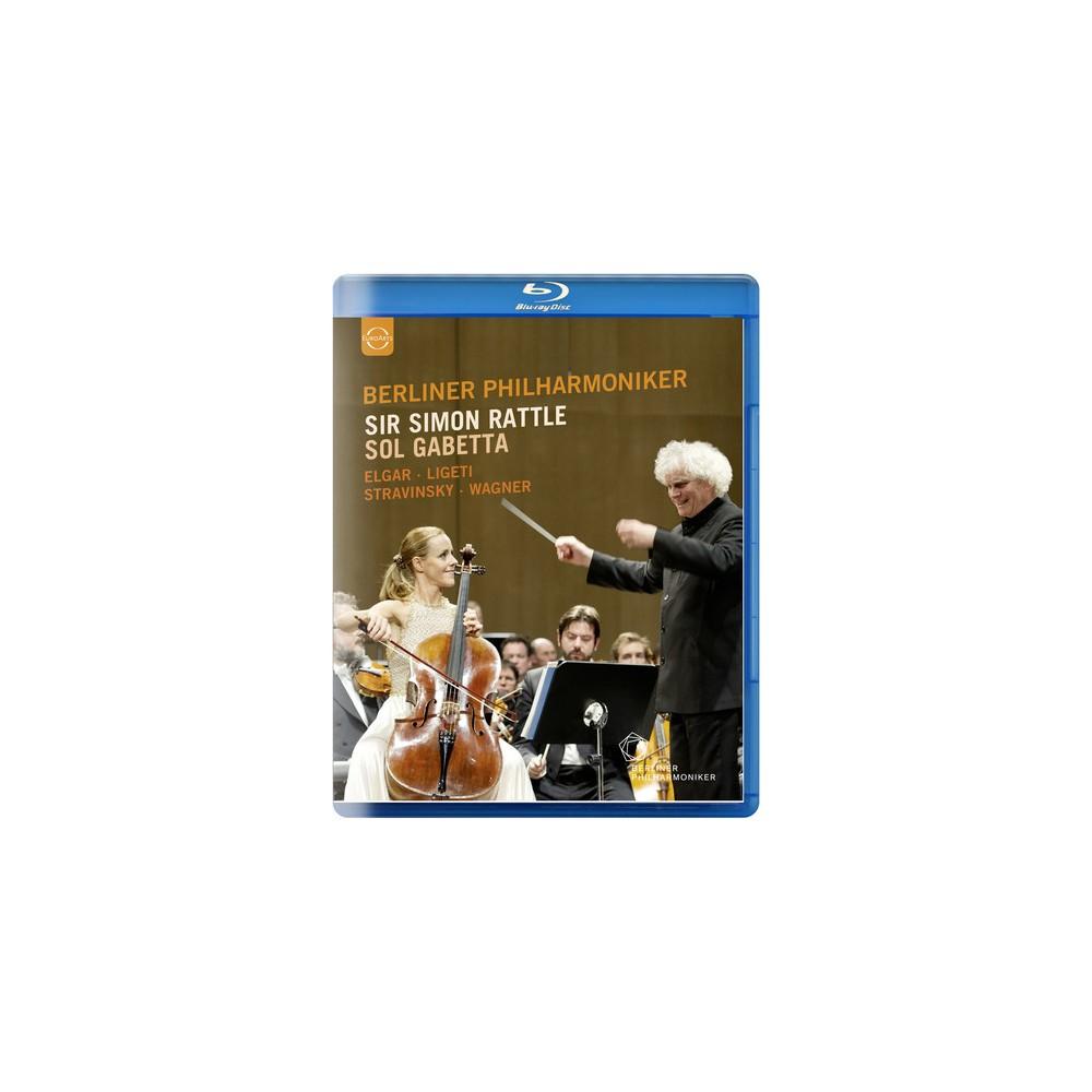 Sir Simon Rattle And Sol Gabetta (Dvd)