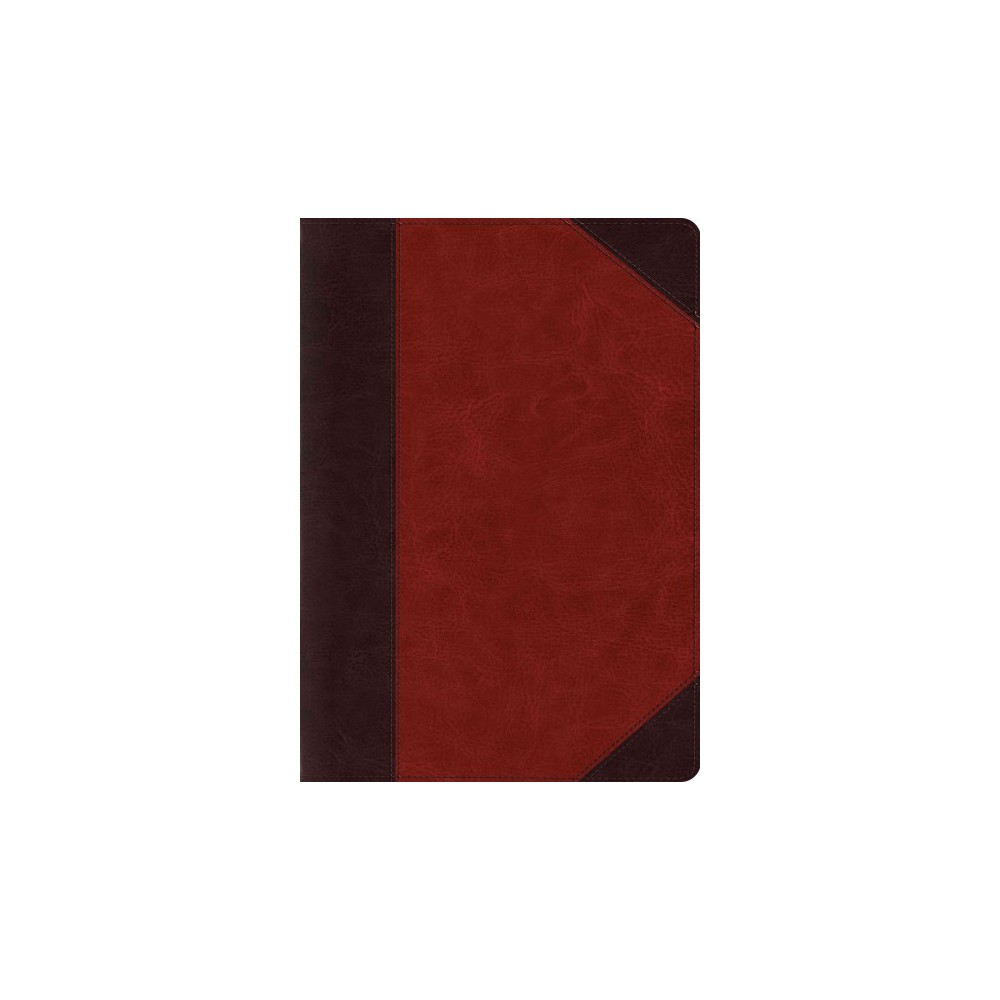 Holy Bible : Esv Study Bible, Trutone, Brown/cordovan, Portfolio Design (Hardcover)