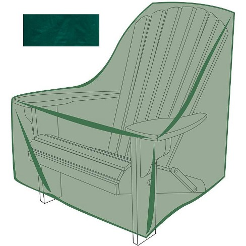 Super All Weather Outdoor Furniture Cover For Adirondack Chair Green Plow Hearth Machost Co Dining Chair Design Ideas Machostcouk