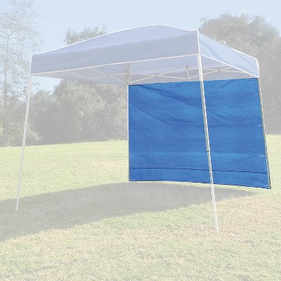 Z-Shade 10' x 10' Instant Canopy Tent Taffeta Sidewall Accessory Only, 2 Pack