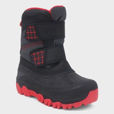 44278f6625db Boys  Neko Double Strap Winter Boots - Cat   Jack...   Target