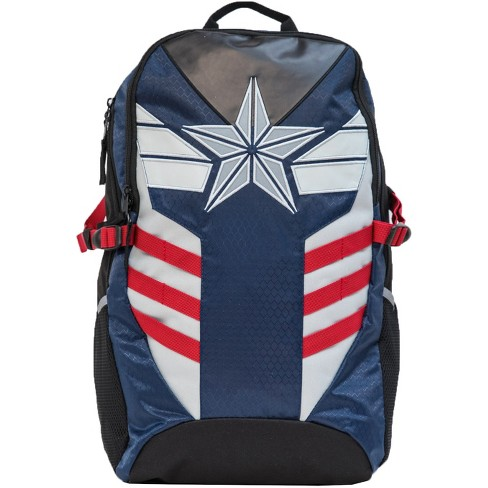 "Captain America Kids' 18"" Commuter Backpack - Blue - image 1 of 6"