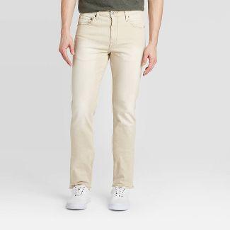 Men's Slim Lightweight Denim - Goodfellow & Co™ Khaki 36x30