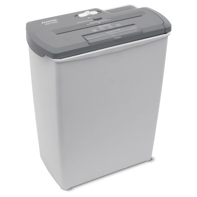 Aurora 8 Sheet Light Duty Paper Shredder with Wastebasket Gray - AS810SD