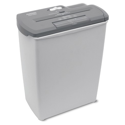 Aurora 8 Sheet Light Duty Paper Shredder with Wastebasket Gray - AS810SD - image 1 of 4