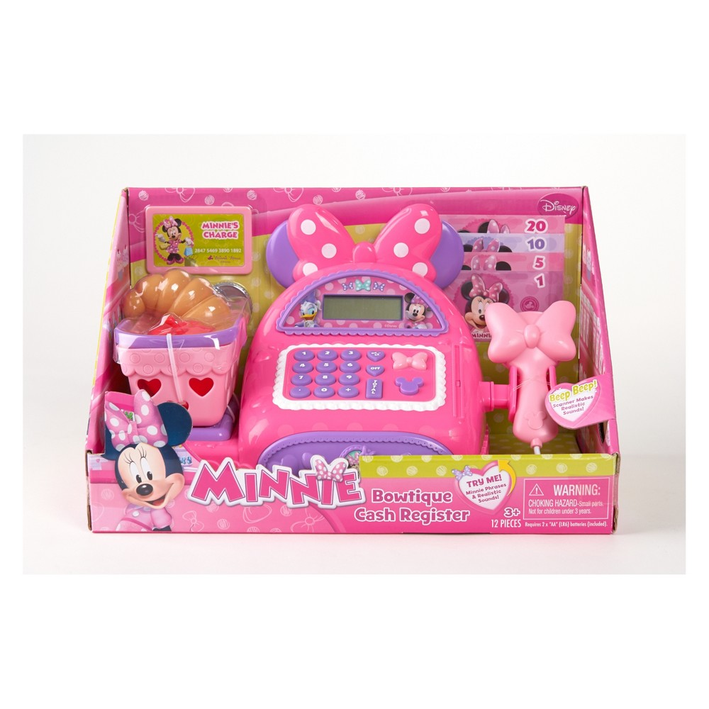 Minnie Bowtique Cash Register - Pink