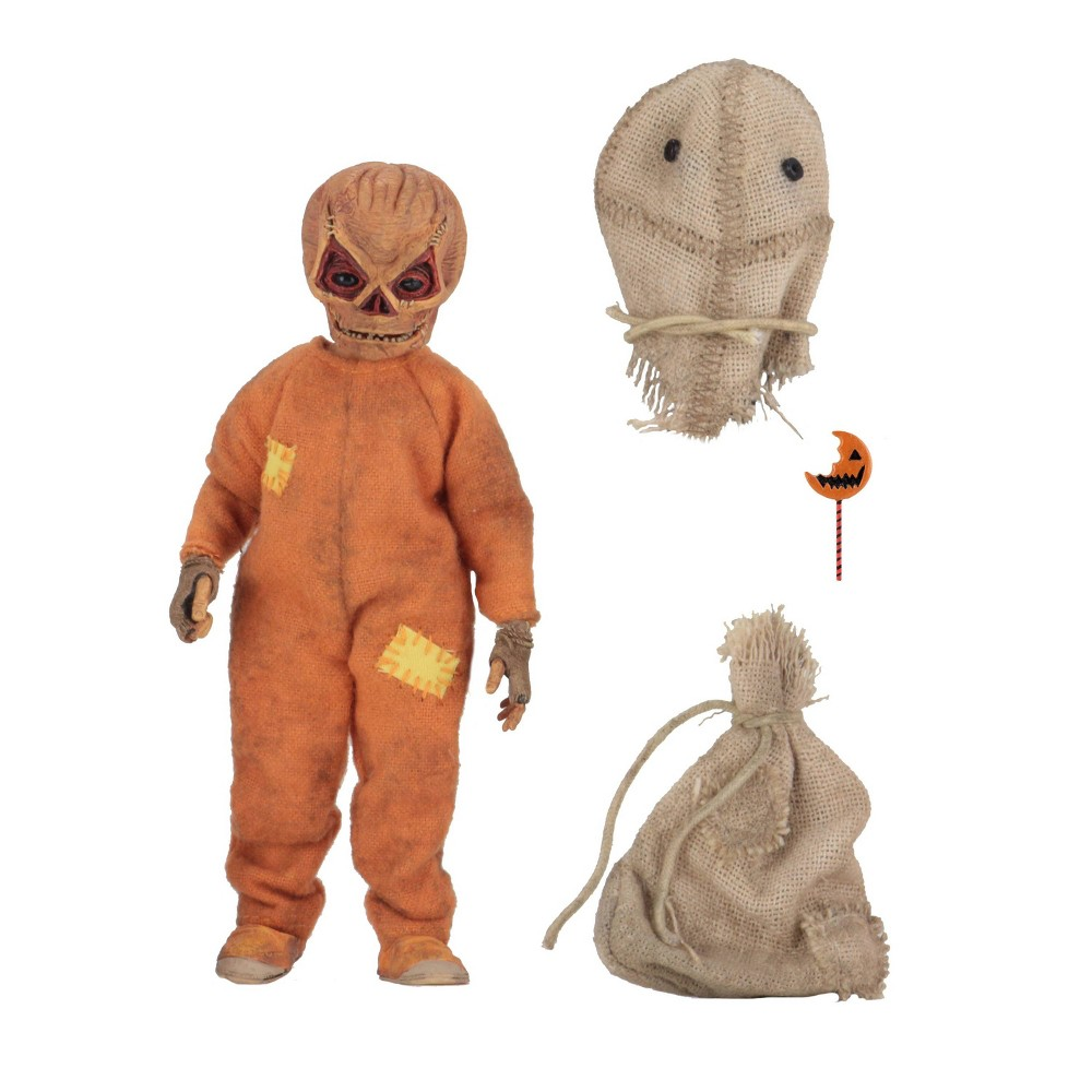 """Image of """"Trick 'r Treat Sam 8"""""""" Clothed Action Figure"""""""
