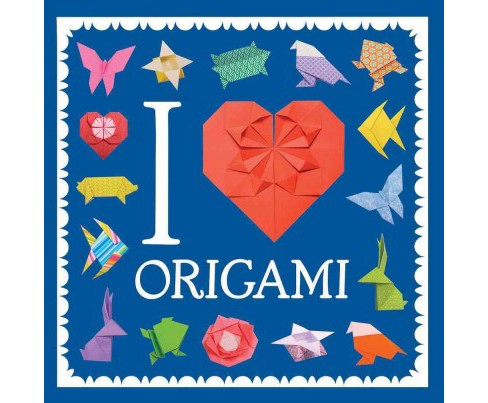 I Heart Origami (Paperback) - image 1 of 1