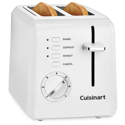 Cuisinart 2 Slice Toaster - White - CPT-122