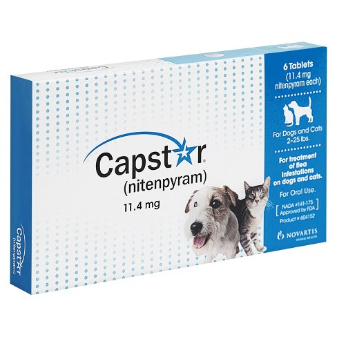 Capstar Nitenpyram For Dogs And Cats 2 25lbs Target