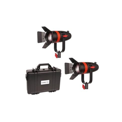 Came-TV Boltzen 55W Bi-Color Fresnel Focusable LED 2-Light Kit with Hard Carrying Case - image 1 of 3