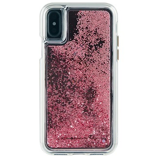 Case-Mate Apple iPhone X/XS Waterfall Case - Rose Gold