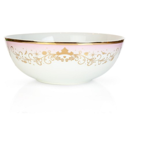 Robe Factory LLC Disney Princess Ceramic Serving Bowl | Elegant Dinner Bowl Measures 10.5 Inches - image 1 of 4