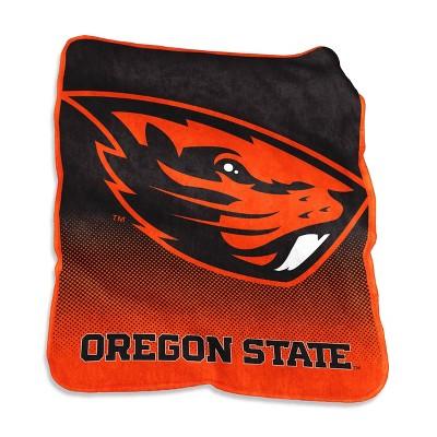 NCAA Oregon State Beavers Raschel Throw Blanket