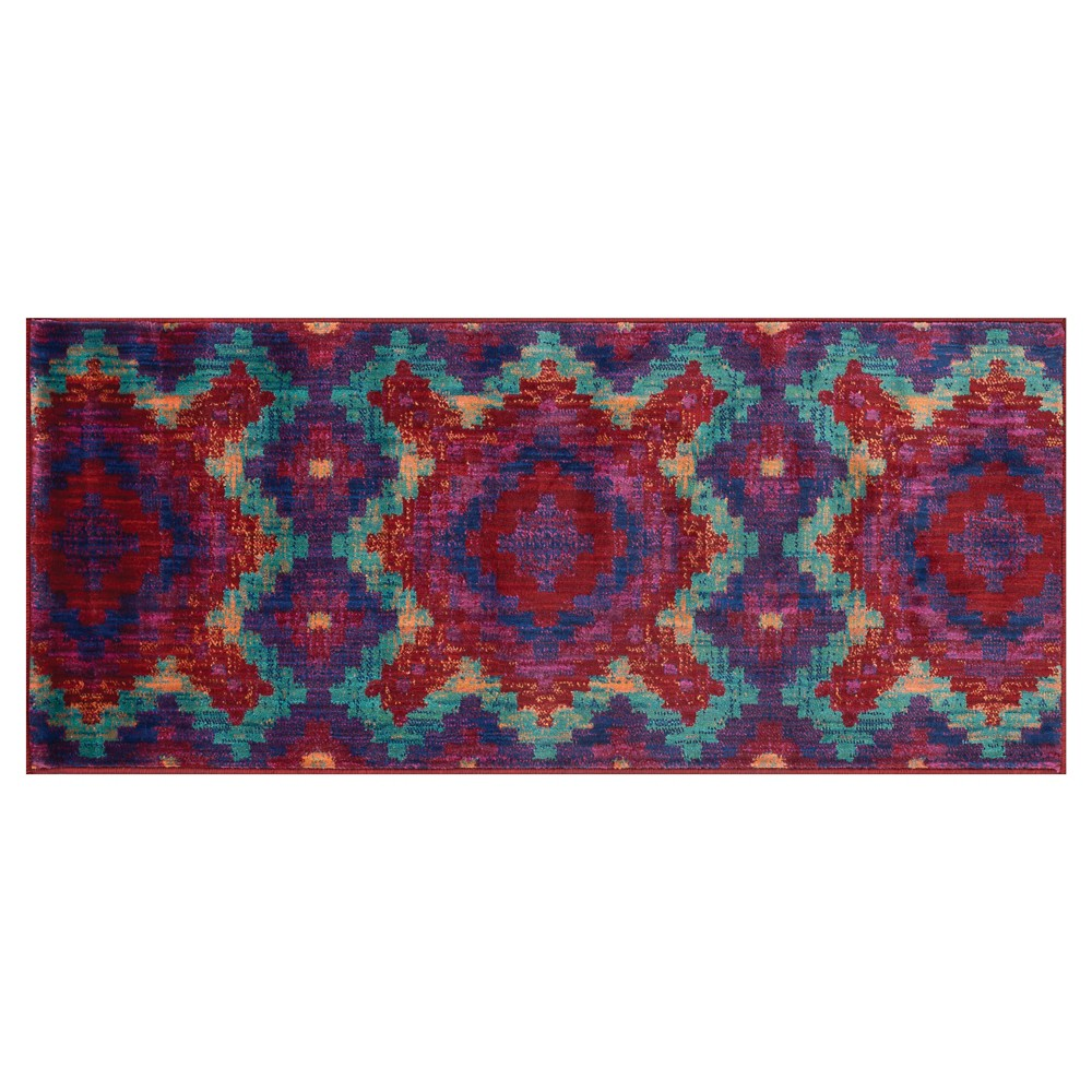 Loloi Isabelle Accent Rug - Red (1'7