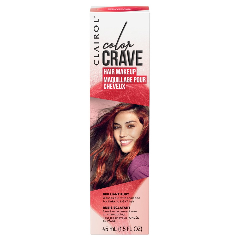 Clairol Color Crave Hair Makeup Ruby (Red) - 1.5 fl oz