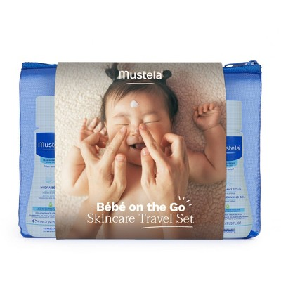Mustela Bebe On the Go Baby Bath and Body Travel Size Gift Set