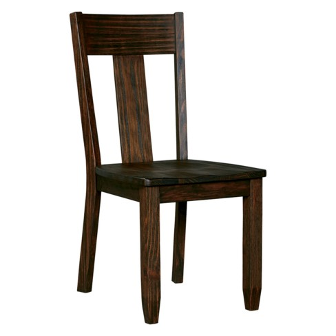 Set Of 2 Trudell Dining Chair Dark Brown Signature Design By