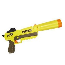 NERF Fortnite SP-L Elite Dart Blaster with 6 Official Nerf Fortnite Elite Darts