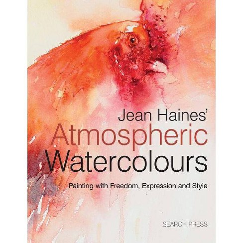 Jean Haines' Atmospheric Watercolours - (Hardcover) - image 1 of 1