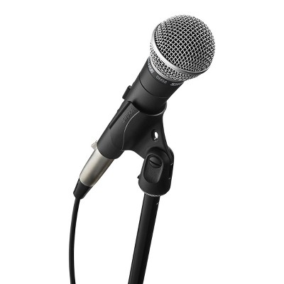 Shure SM58 Microphone with XLR cable and Stand