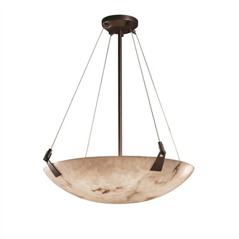 """Justice Design Group LumenAria 8 Light 51"""" Wide Pendant with Faux Alabaster Resin Shade - image 1 of 1"""