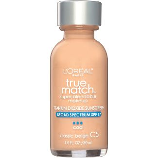 L'Oreal Paris True Match Makeup C5 Classic Beige 1 fl oz