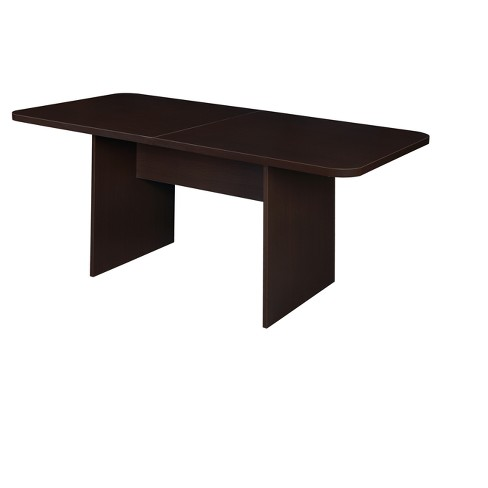 Mod 6' Conference Table with No Tools Assembly Coffee - Niche - image 1 of 1