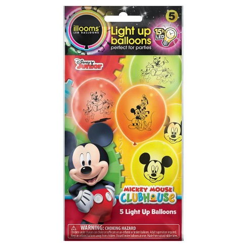 5ct illooms® LED Light Up Mickey Mouse Disney Balloon - image 1 of 1